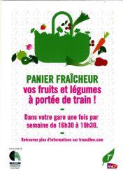 SNCF Panier fraîcheur